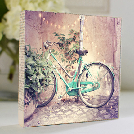 Bicycle Lights Art Block