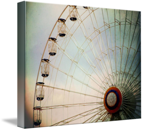 MKC Photography Ferris Wheel Canvas