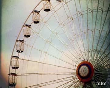 Ferris Wheel in Winter