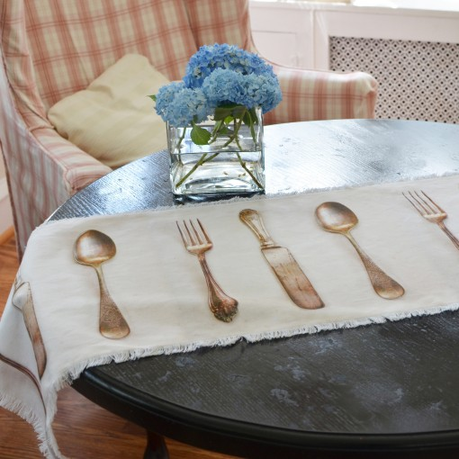 Fork Knife Spoon Table Runner