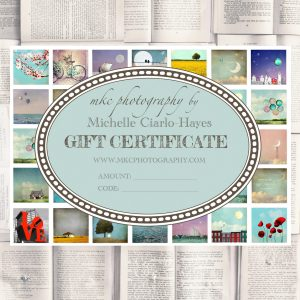 MKC Photography Gift Certificate
