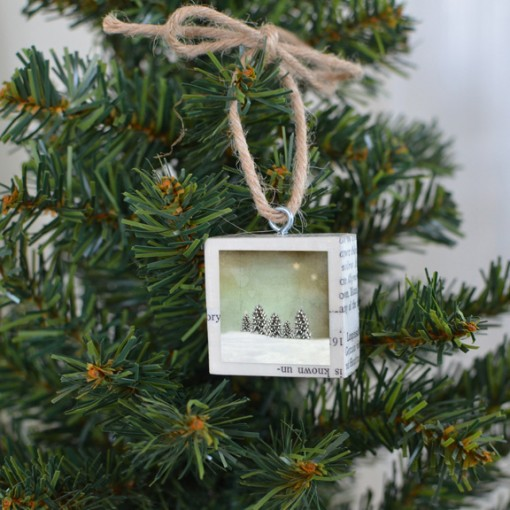 All The Little Trees Ornament