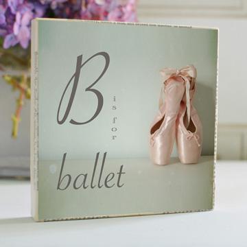 B is for Ballet Art Block