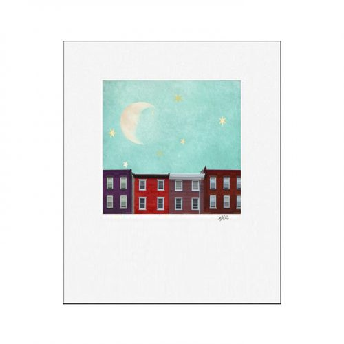 MKC Photography Dreaming Stars Matted Print