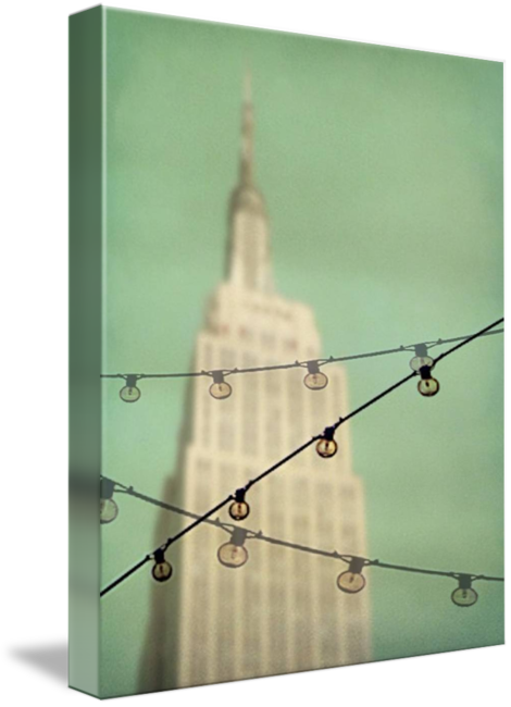 MKC Photography Empire State Canvas