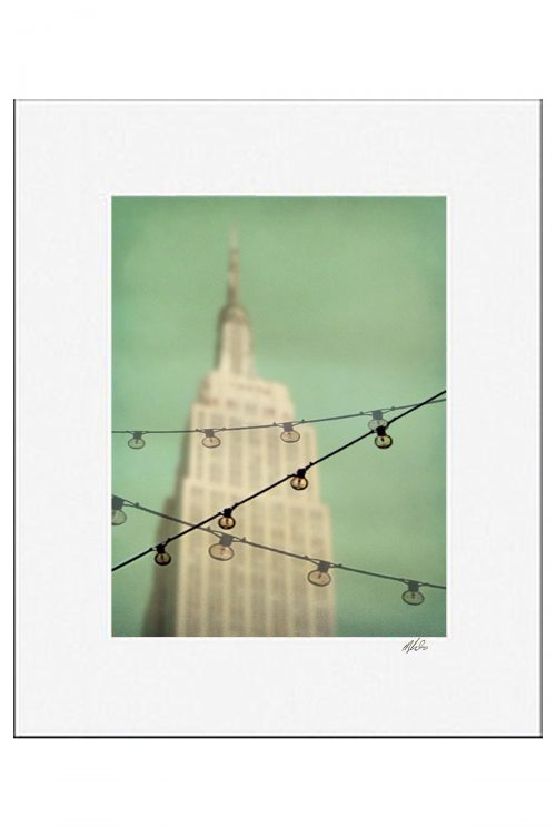 MKC Photography Empire State Matted Print