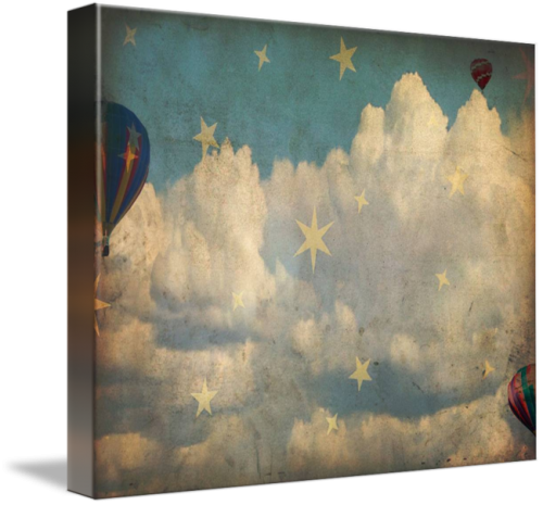 Flying In The Stars Canvas