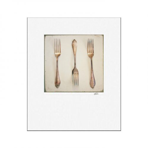 MKC Photography Fork Matted Print