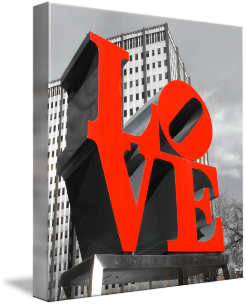 MKC Photography Love Park Canvas