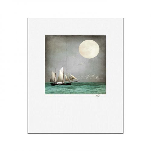 MKC Photography Moonlight Matted Print