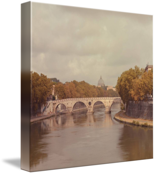 MKC Photography Ponte Sisto Canvas