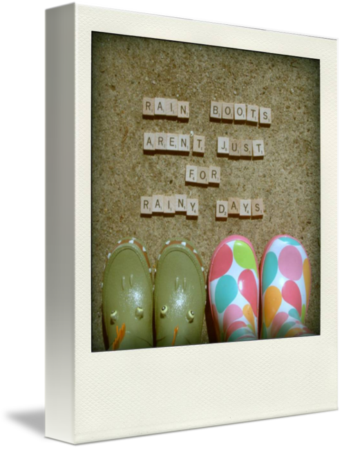 MKC Photography Rain Boots Canvas