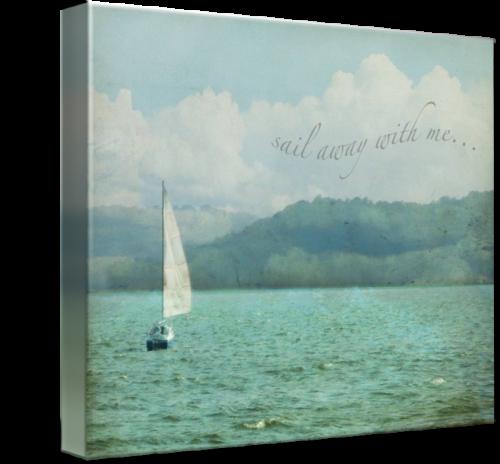 MKC Photography Sail Away Canvas