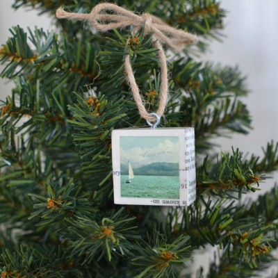 Sail Away Ornament