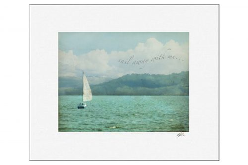 MKC Photography Sail Away Matted Print
