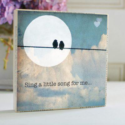 Sing a Song Art Block