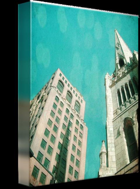 MKC Photography Urban Hymn 3 Canvas