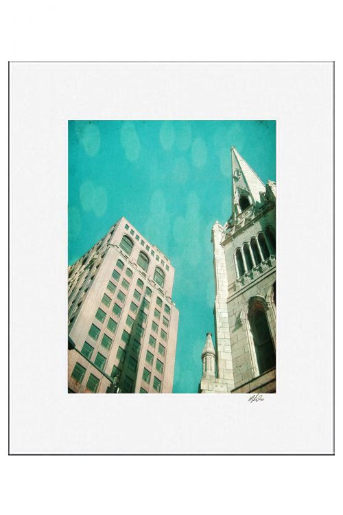 MKC Photography Urban Hymn 3 Matted Print