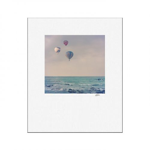 MKC Photography Balloons At Sea Matted Print