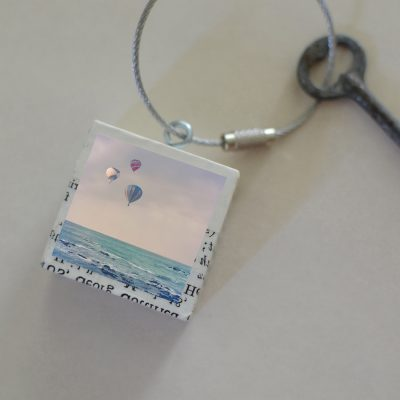 Balloons At Sea Keychain