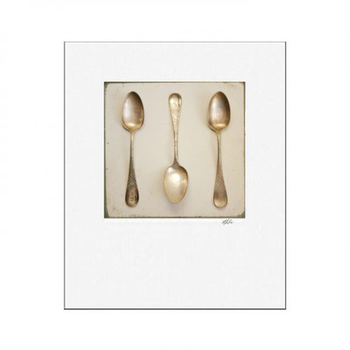 MKC Photography Spoon Matted Print