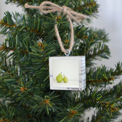Two Pears Ornament