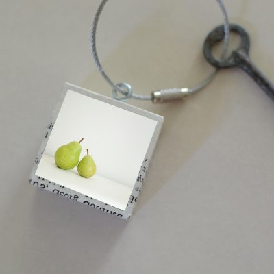 Two Pears Keychain