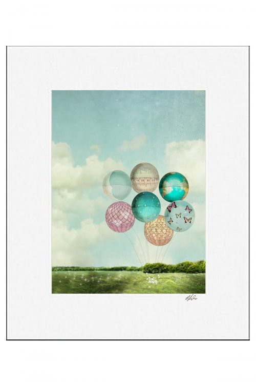 MKC Photography Dreaming Garden Matted Print