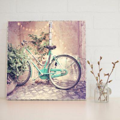Large Art Block Bicycle Lights