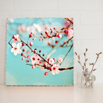 Large Art Block Blossoms