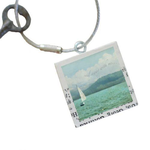 Sail Away Keychain