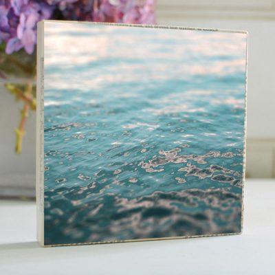 Sunset Water Art Block