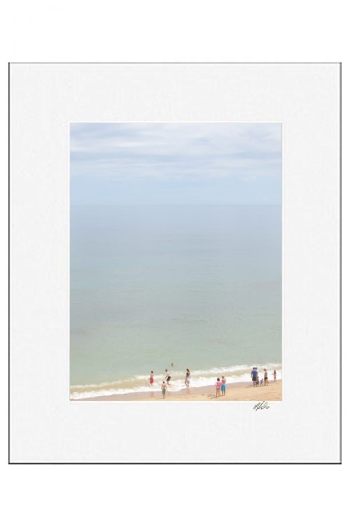 MKC Photography Marconi Beach 2 Matted Print