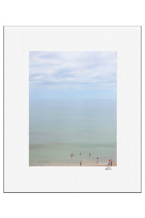 MKC Photography Marconi Beach Matted Print