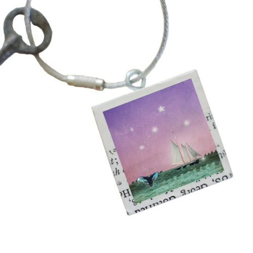 Whales Tale Keychain