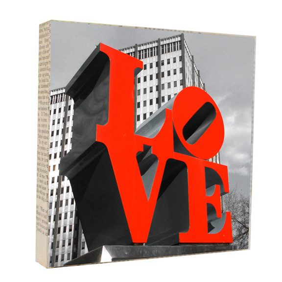 Love Park Art Block