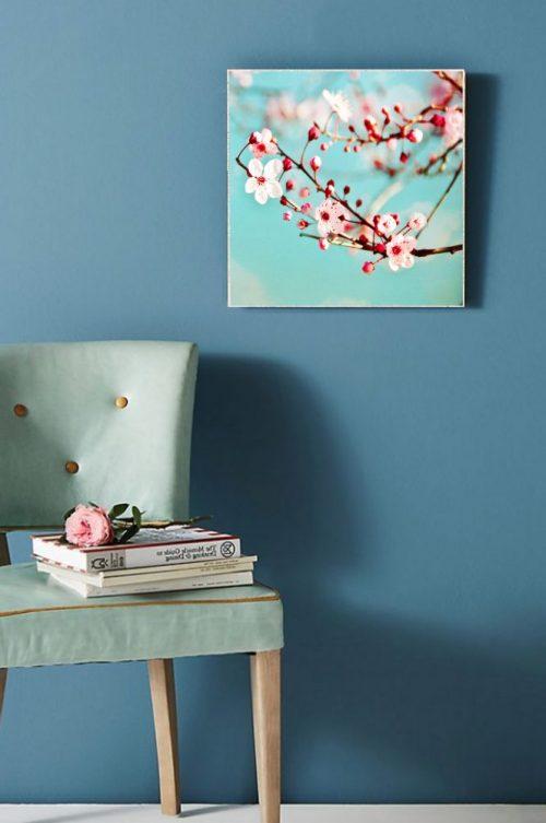MKC Photography Blossoms Large Art Block Lifestyle