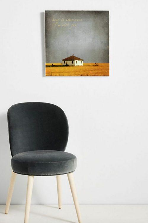 MKC Photography Home Large Art Block Lifestyle