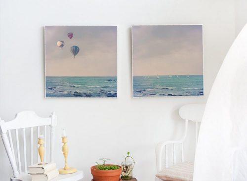 MKC Photography Balloons at Sea & Sailboats at Sea