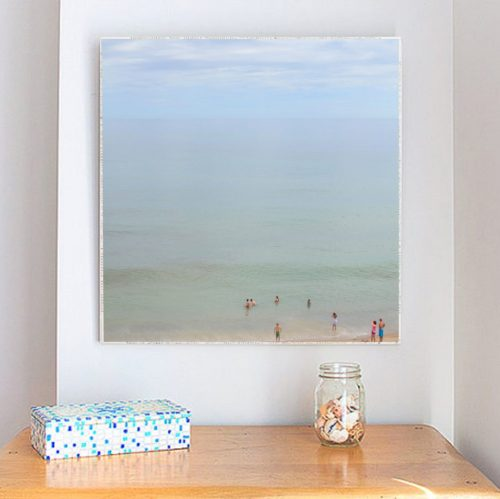 MKC Photography Marconi Beach 1 Large Art Block Lifestyle