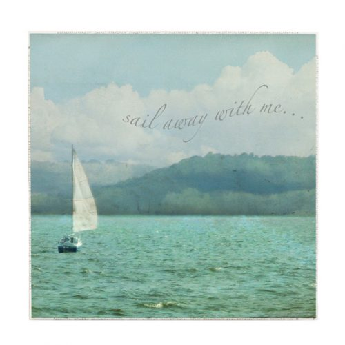 MKC Photography Sail Away Large Art Block