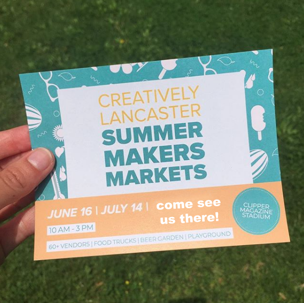 June 16, 2018 Makers Market – Lancaster, PA