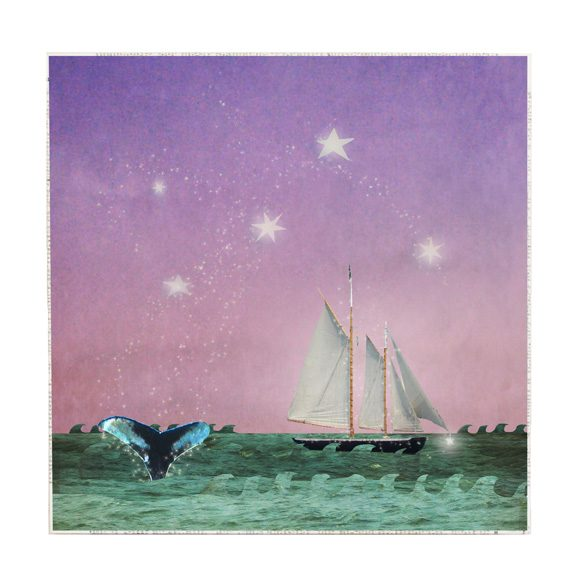 MKC Photography Whales Tale Large Art Block