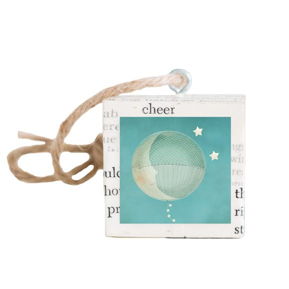 Moon Balloon Ornament