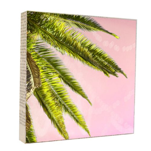 Palm Tree Art Block