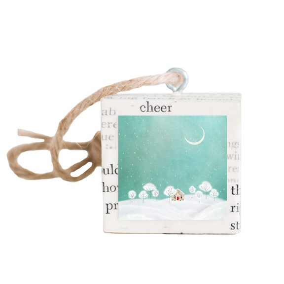 Snowy Night Ornament