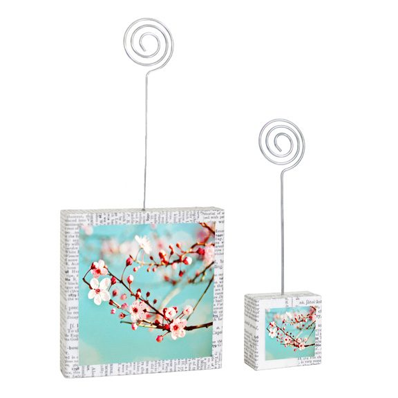 Blossoms Large & Small Photo Holders