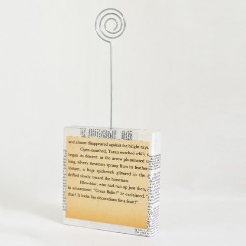 "3"" Photo Holder Back"