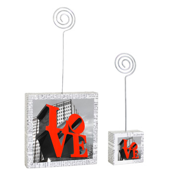 Love Park Large and Small Photo Holders