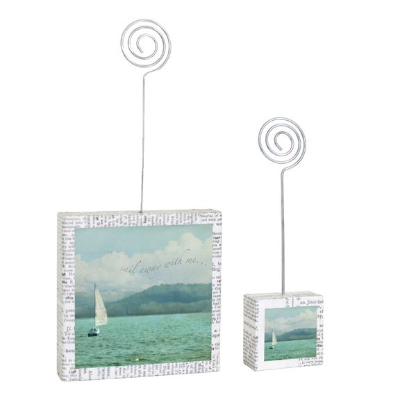 Sail Away Large & Small Photo Holders